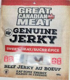 Great Canadian Meat - Sweet Heat Beef Jerky