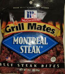 Grill Mates - Montreal Steak Beef Bites