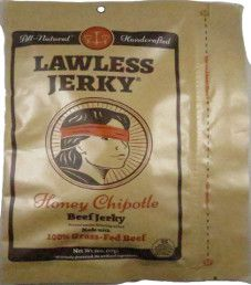 Lawless Jerky - Honey Chipotle 100% Grass Fed Beef Jerky