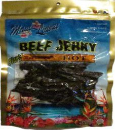 Maui~Licious - Hot Beef Jerky