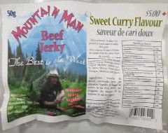 Mountain Man - Sweet Curry Beef Jerky