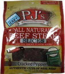 PJ's All Natural Beef Steak - Cracked Pepper Beef Steaks