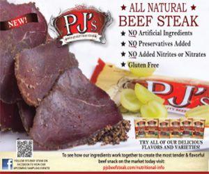 PJ's All Natural Beef Steak