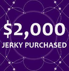 $2,000 Worth of Jerky Purchased