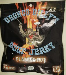 Bronco Billy's Beef Jerky - Flaming Hot Beef Jerky