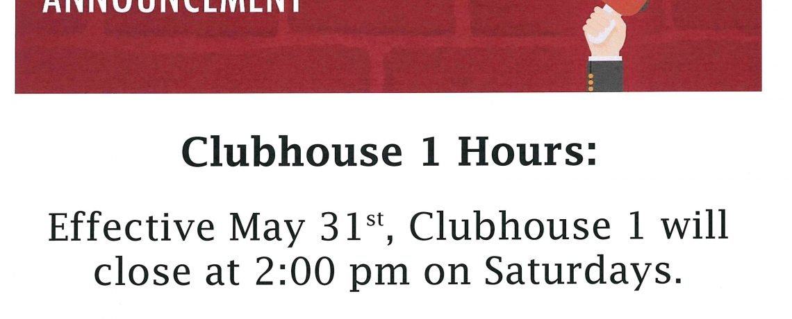 Clubhouse 1 Hours