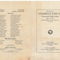 1916NHS Commencement Program 1916 front.jpg