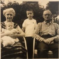 Preston Family taken August of 1957 in Nelsonville, Ohio