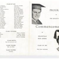 NHS 1953 Commencement Program Front .jpg