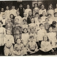 1890's-early 1900's Nelsonville Elementary class photo