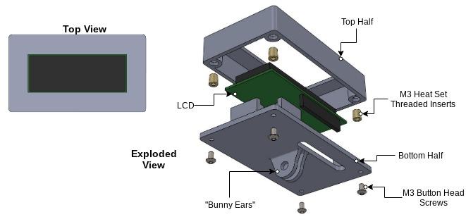 LCD Housing.