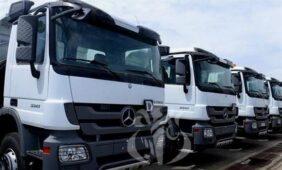 تسليم 282 شاحنة مرسيدس بنز - الجزائر ايكو