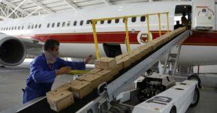 200 طن من المواد الغذائية من الجزائر إلى لبنان بعد الانفجار |  أفريكانيوز