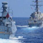 مناورات تركية واسعة شرق المتوسط.. اليونان ترفض التفاوض وموسكو تعرض الوساطة