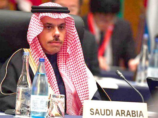 وزير الخارجية السعودي ينفي لقاء ولي العهد مع إسرائيليين