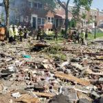 انفجار قوي في مدينة أمريكية يسوّي المنازل بالأرض