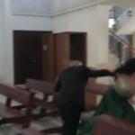 شاهد صدمة قوية من انفجار بيروت تضرب الكنيسة بينما يتجمع الضيوف لحضور حفل زفاف