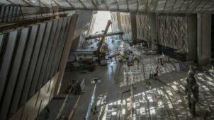 داخل المتحف المصرى الكبير الجديد - WKBT