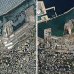 دليل مرئي: كيف تسبب الانفجار في وقوع خسائر بشرية كبيرة ودمار في أنحاء بيروت