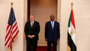 مسؤولون سودانيون وأمريكيون يبحثون السلام مع إسرائيل ورفع الخرطوم من قائمة الإرهاب