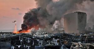 صواريخ وليست نترات الأمونيوم.. خبير إيطالي يصب زيتا على نار انفجار بيروت