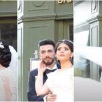 شاهد جلسة تصوير زفاف أخرى هادئة بعد أن قاطعتها موجة صدمة انفجار بيروت