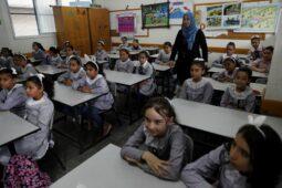 طلاب غزة يعودون إلى المدرسة بقليل من إجراءات السلامة من الفيروسات - Egypt Independent