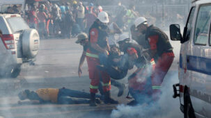 أصيب أكثر من 100 شخص في احتجاجات بيروت وسط اشتباكات وتقارير عن حريق وإطلاق نار من قبل الشرطة