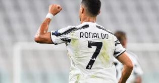 شاهد.. رونالدو يسجل في الفوز الأول ليوفنتوس بقيادة بيرلو