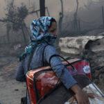 حريق مخيم موريا اليوناني.. آلاف المشردين وتحركات أوروبية لاحتواء الأزمة
