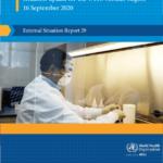تحديث حالة COVID-19 لإقليم منظمة الصحة العالمية الأفريقي ، تقرير الحالة الخارجية 29 (16 سبتمبر 2020) – جنوب إفريقيا