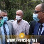 مقبرة الجلاز: المشيشي يُقدم واجب العزاء لعائلة الفقيد أحمد بن صالح
