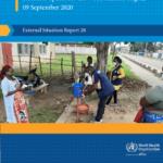 تحديث حالة COVID-19 لإقليم منظمة الصحة العالمية الأفريقي ، تقرير الحالة الخارجية 28 (09 سبتمبر 2020) – جنوب إفريقيا