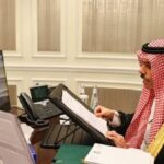 وزير الخارجية السعودي يناقش قمة العشرين مع نظيريه الروس وجنوب إفريقيا