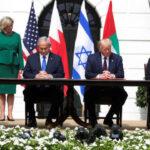 عودة على النشرة الخاصة لتغطية مراسم توقيع اتفاقيات التطبيع بين إسرائيل والإمارات والبحرين في واشنطن