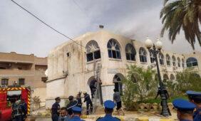حريق في مستشفى الأم والطفل بالوادي: إجلاء 26 طفلاً - algerie eco