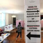 الديموقراطيون يهاجمون ترامب بسبب نصيحة 'التصويت مرتين' MUM بينما يكشف مشروع Veritas عن مفتش الانتخابات المزيف لـ NH Democrats