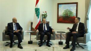 الأزمة السياسية في لبنان: عون وأديب يتفقان على استكمال مشاورات تشكيل الحكومة