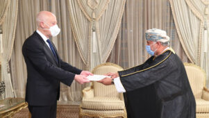 Tunisian President receives credentials of Omani envoy