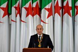 الرئيس الجزائري: القضية الفلسطينية مقدسة