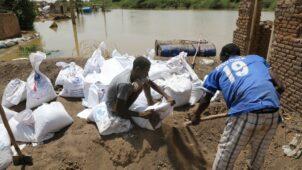 فيضانات السودان: مشاكل الصرف تعيق جهود الإنعاش