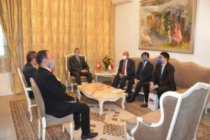 وزير الداخلية يستقبل سفير جمهورية إندونسيا بتونس