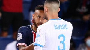 رابطة الدوري الفرنسي توقف نيمار مباراتين وتفتح تحقيقا حول اتهاماته لغونزاليس بالعنصرية