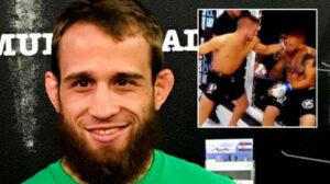 'مخيف جدًا': مقاتل MMA الذي أُصيب بالبرد لمدة 15 دقيقة 'يتحسن' في المستشفى بعد مغادرته على نقالة