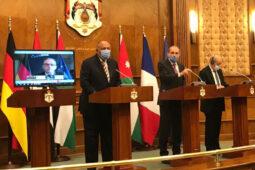 دول عربية وأوروبية تدعو إسرائيل وفلسطين لاستئناف المحادثات