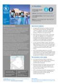 موجز قطري لبرنامج الأغذية العالمي في الجزائر ، أغسطس 2020 - الجزائر