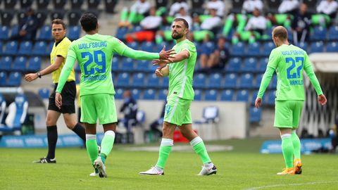 يظهر مرموش عندما يتأهل فولفسبورج إلى ملحق الدوري الأوروبي