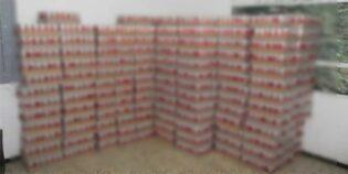 سوسة/ حجز كمية هامّة من المشروبات الكحوليّة معدّة للبيع خلسة