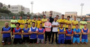 فايزة حيدر.. أول امرأة تدرب فريق كرة قدم للرجال في مصر