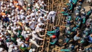 مظاهرات في عاصمة بنغلادش ضد فرنسا ودعوة لمقاطعة منتجاتها